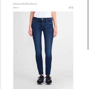NWT DL1961 Florence Instasculpt Skinny Jeans